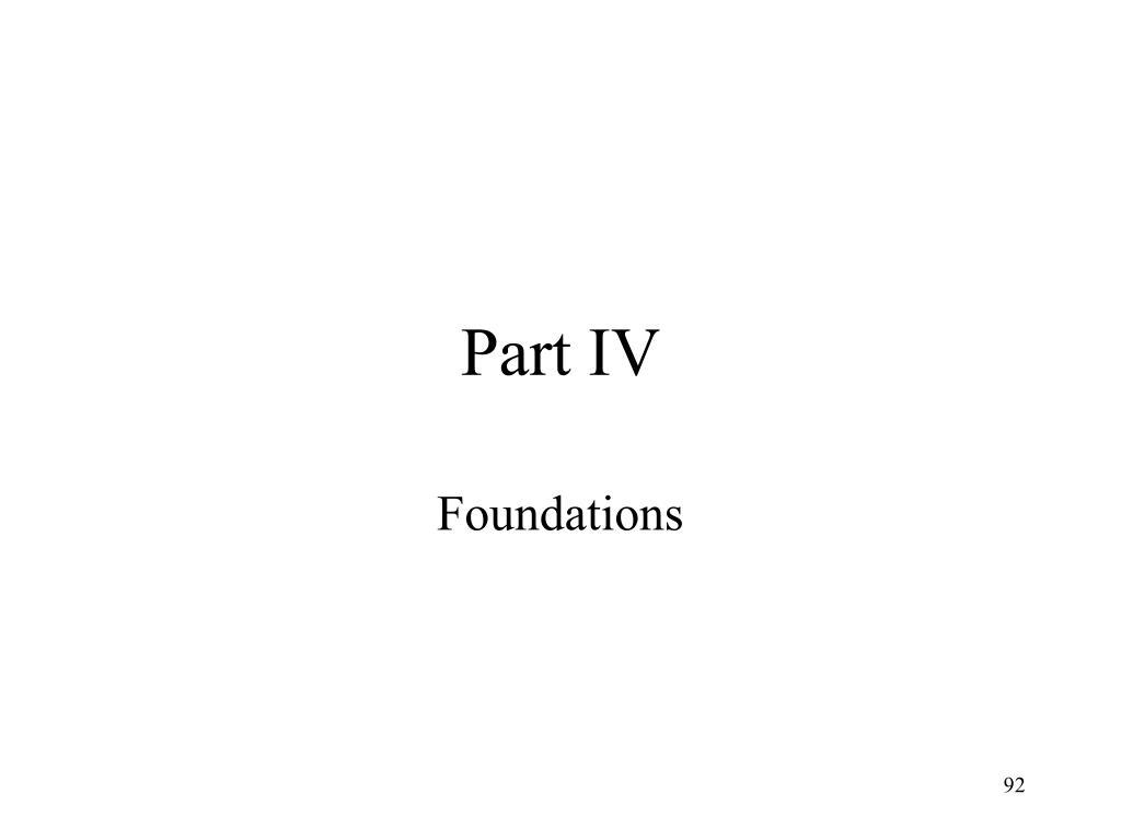 Part IV