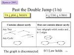 past the double jump 1 n