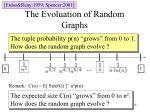 the evoluation of random graphs