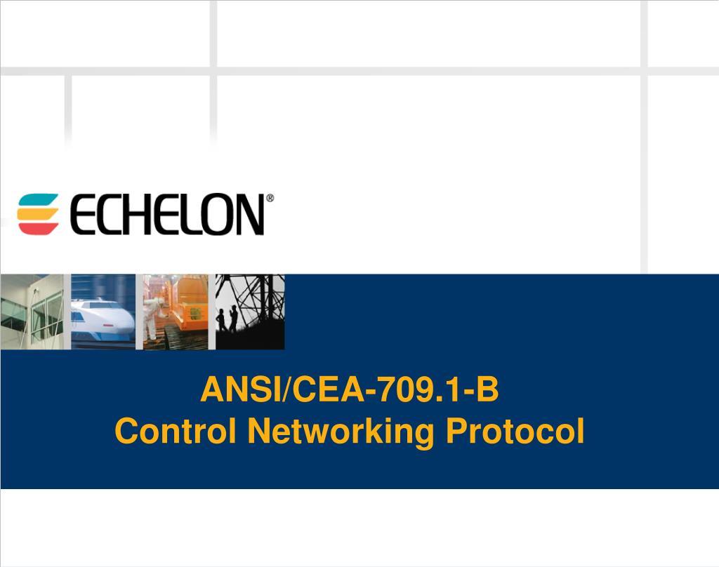 ANSI/CEA-709.1-B