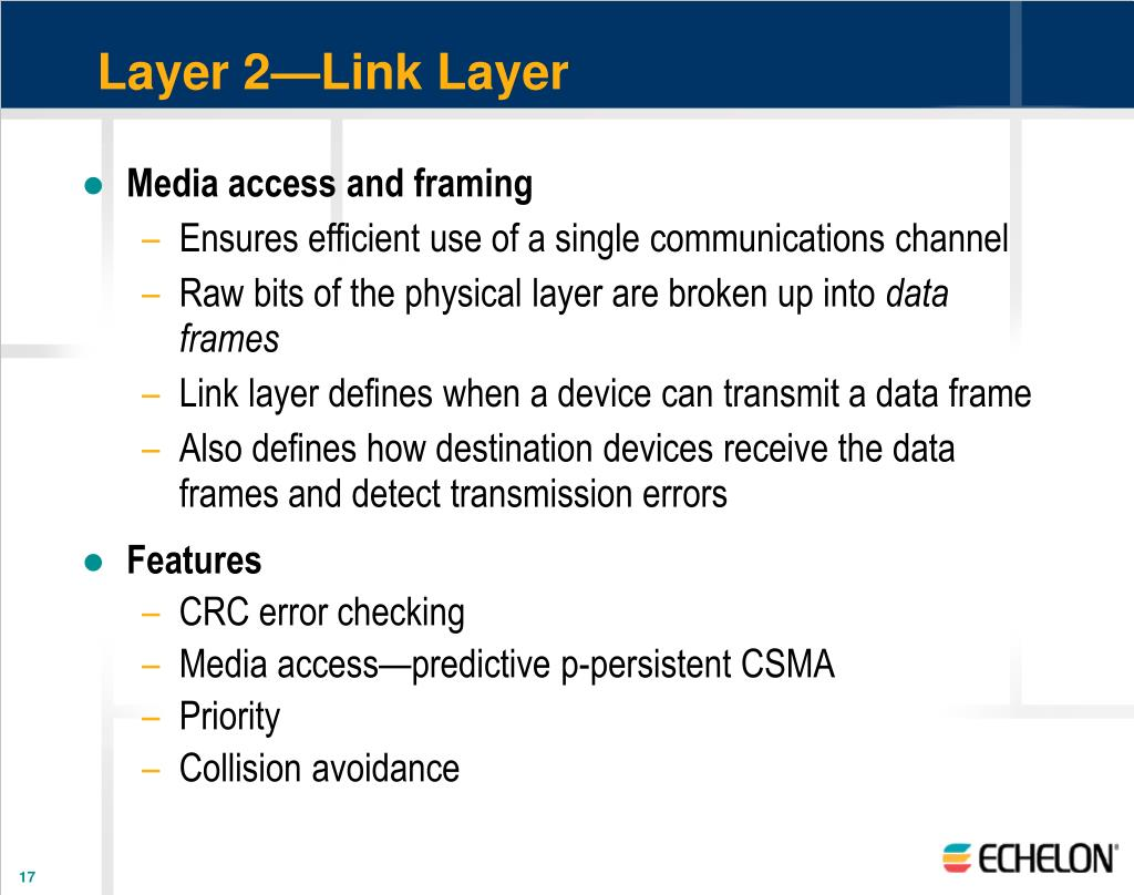Layer 2—Link Layer