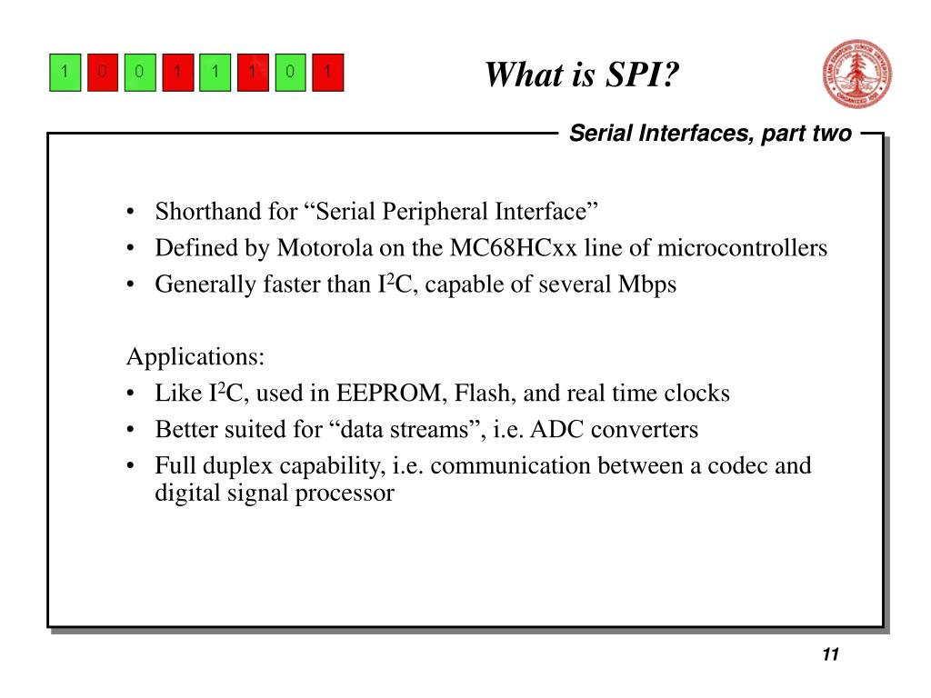 What is SPI?
