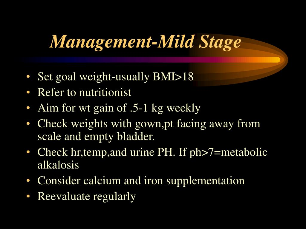 Management-Mild Stage