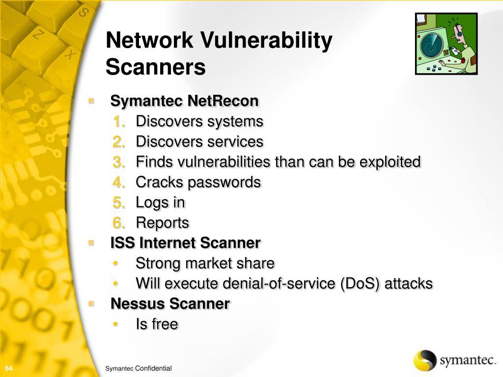 Network Vulnerability Scanners