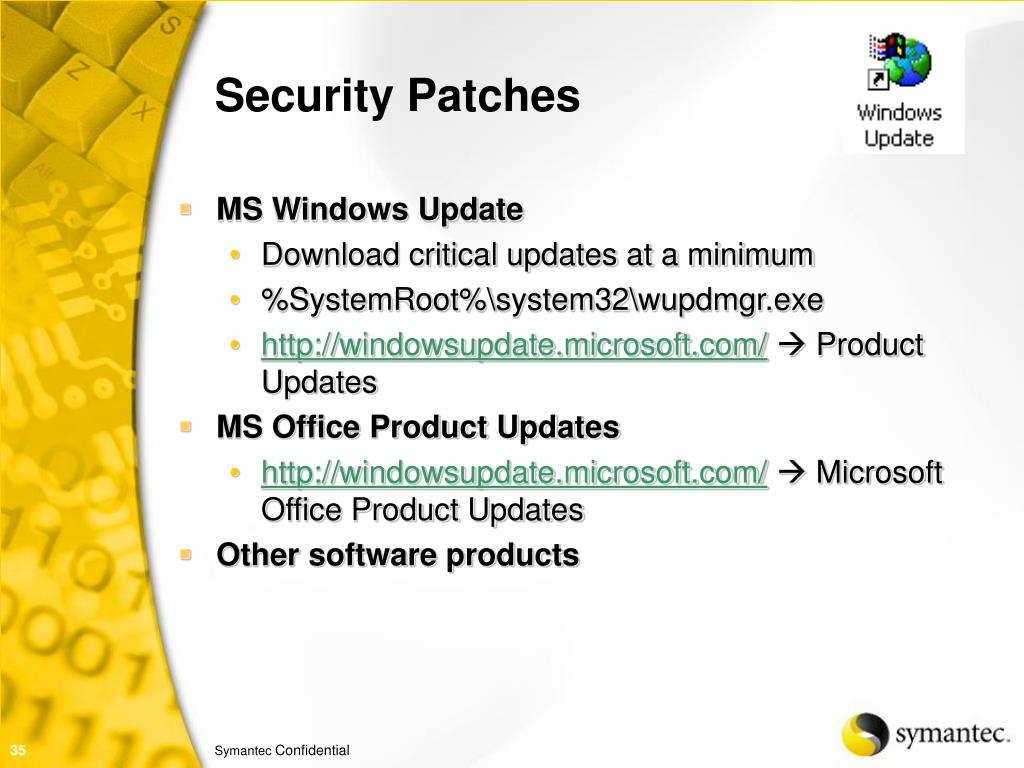 Security Patches