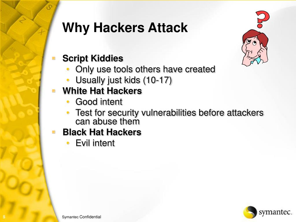 Why Hackers Attack