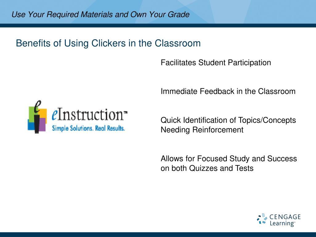 Facilitates Student Participation