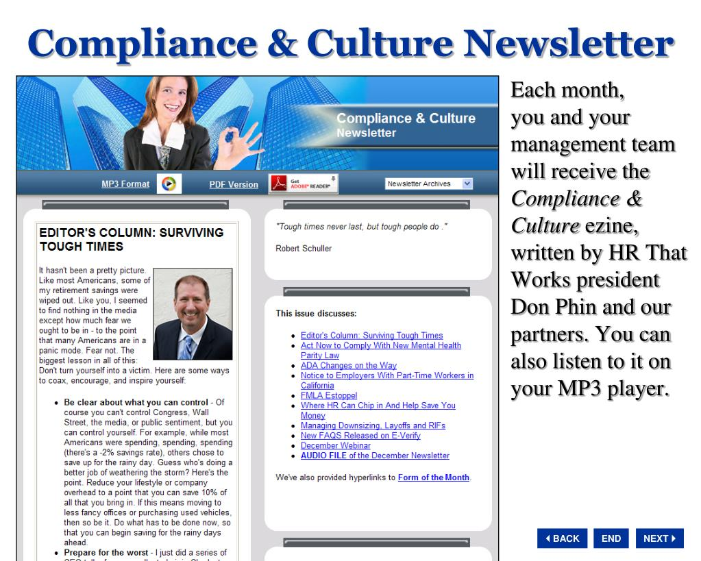 Compliance & Culture Newsletter