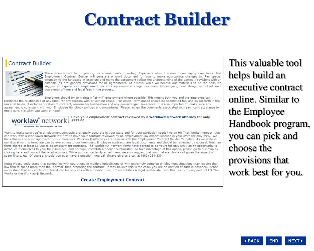 Contract Builder