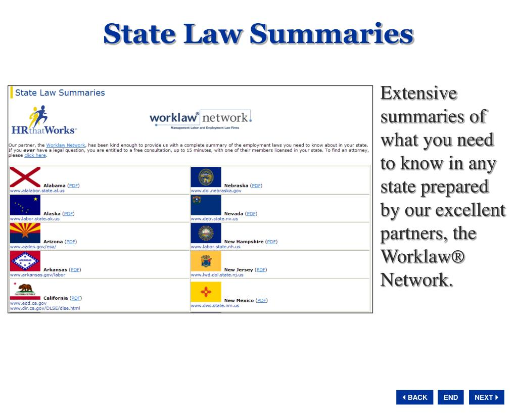 State Law Summaries