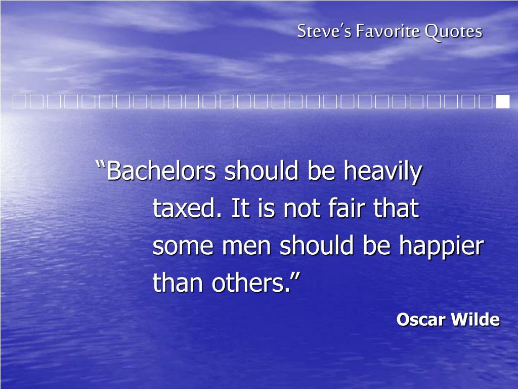 Steve's Favorite Quotes