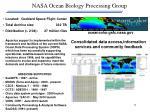 nasa ocean biology processing group