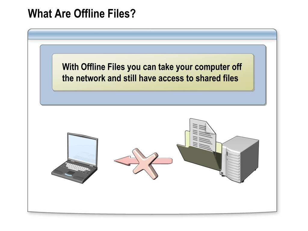 What Are Offline Files?