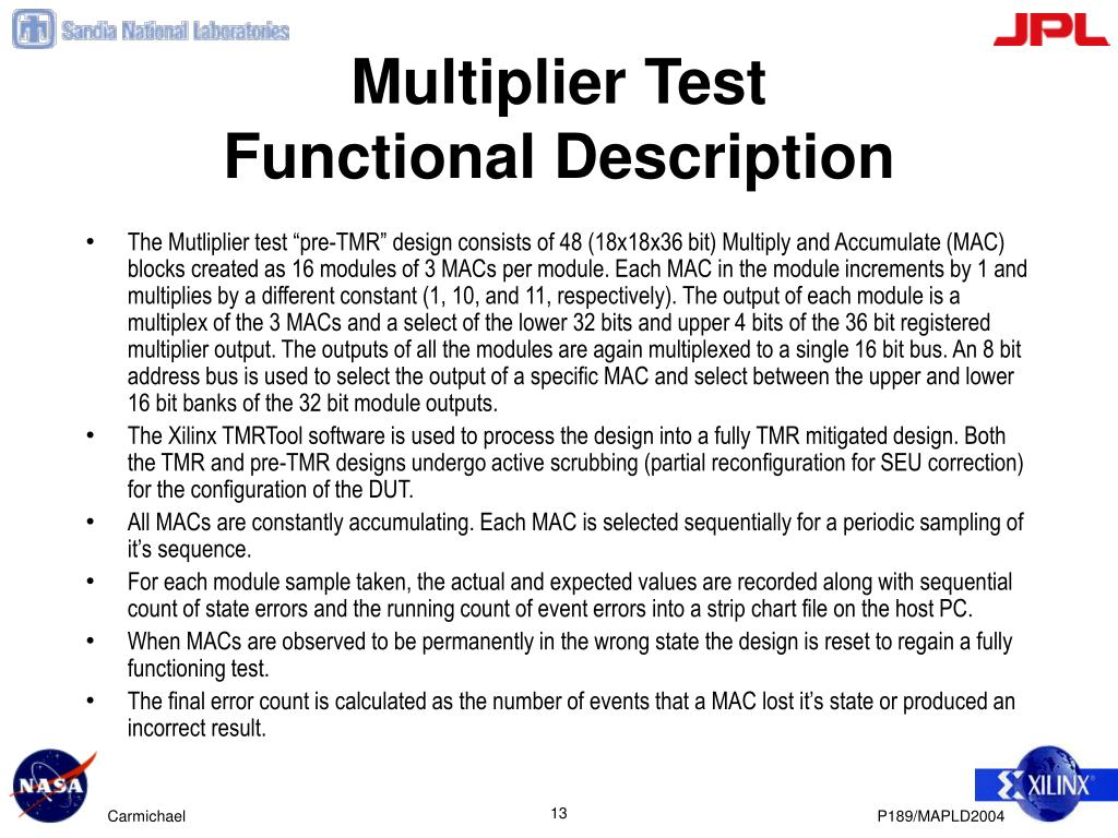 Multiplier Test