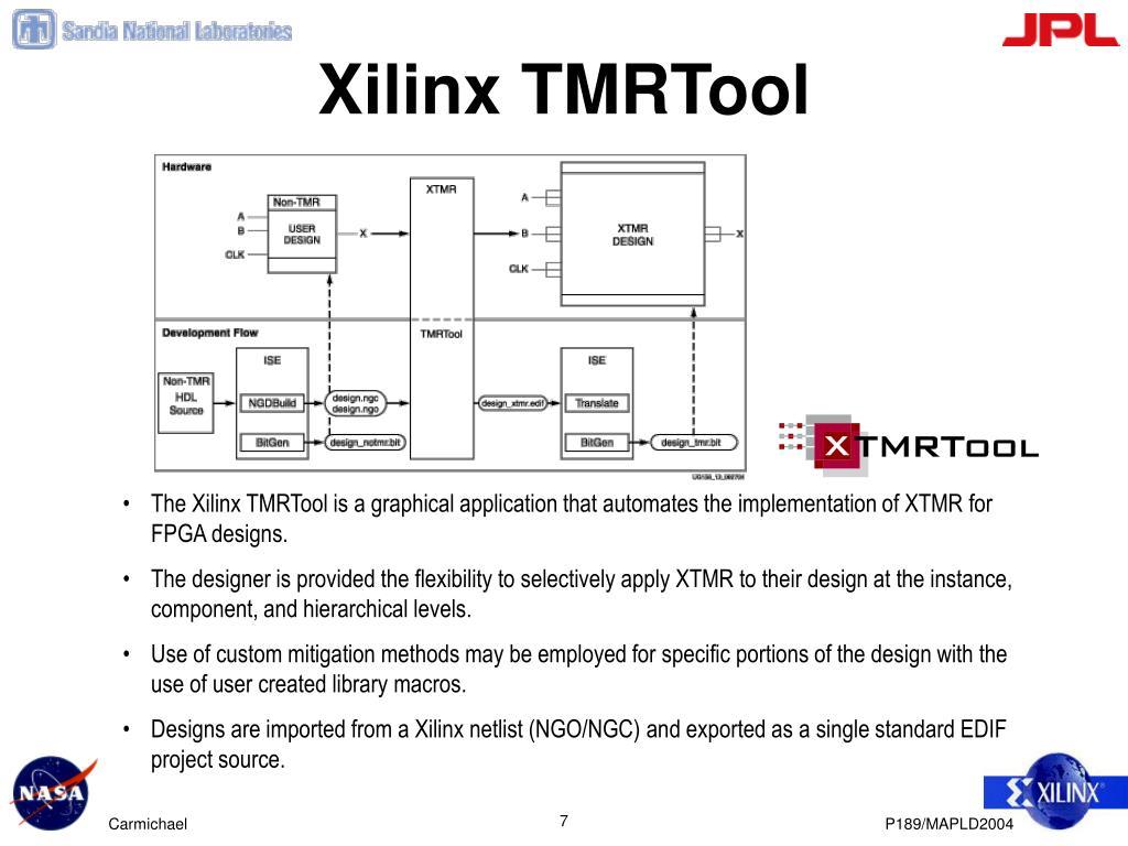 Xilinx TMRTool