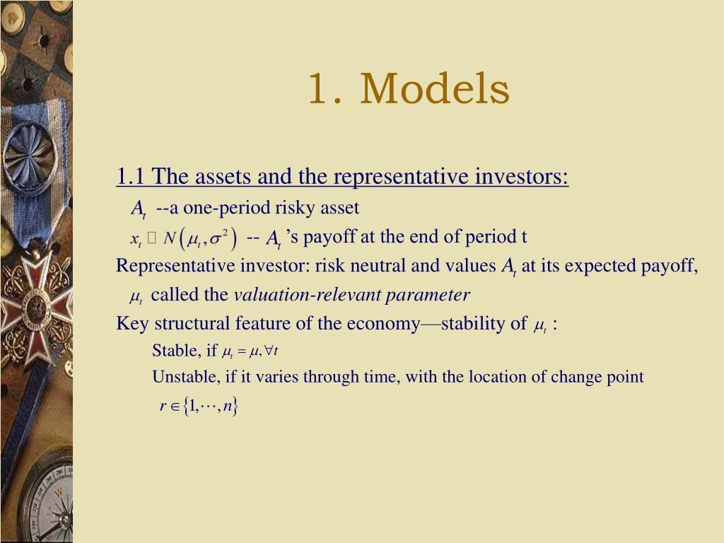 1. Models