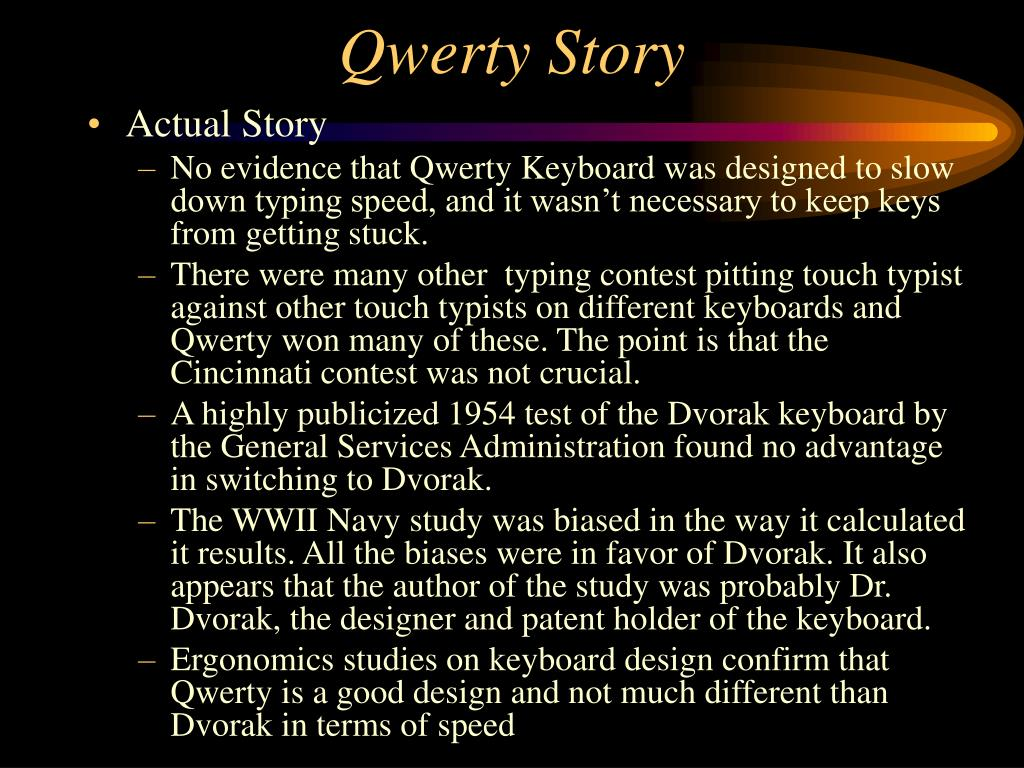Qwerty Story