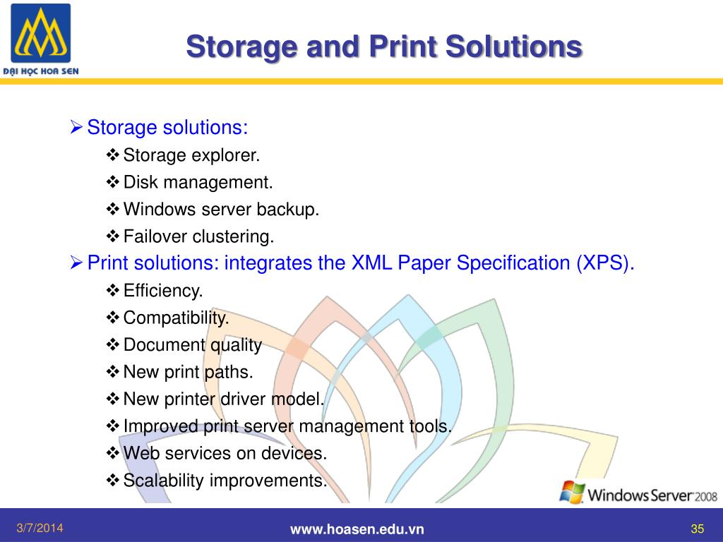 Storage and Print Solutions