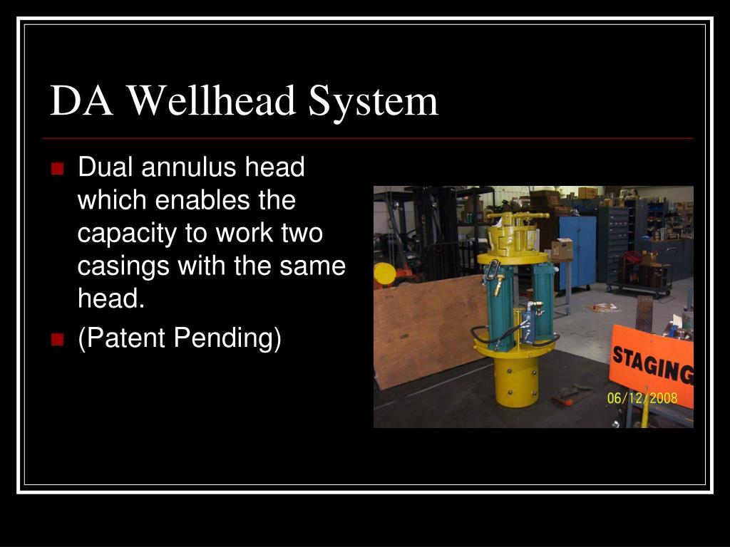 DA Wellhead System