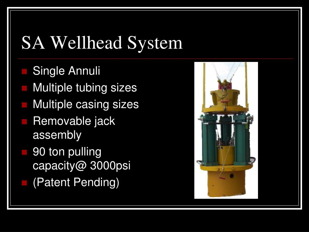 SA Wellhead System