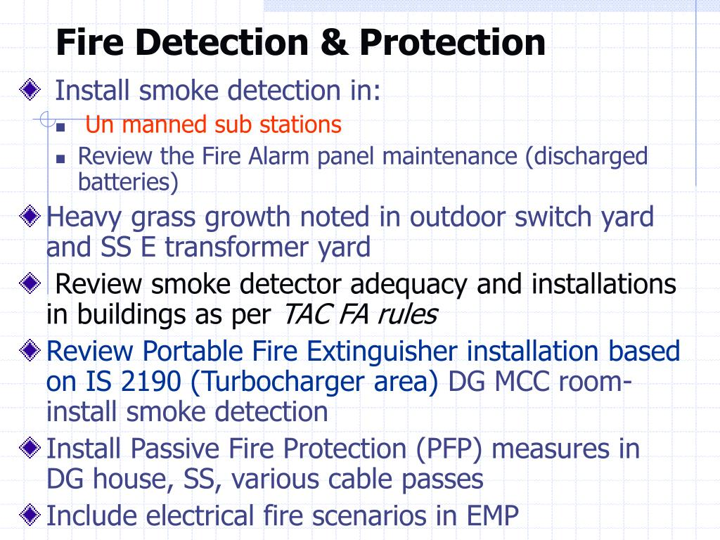 Fire Detection & Protection