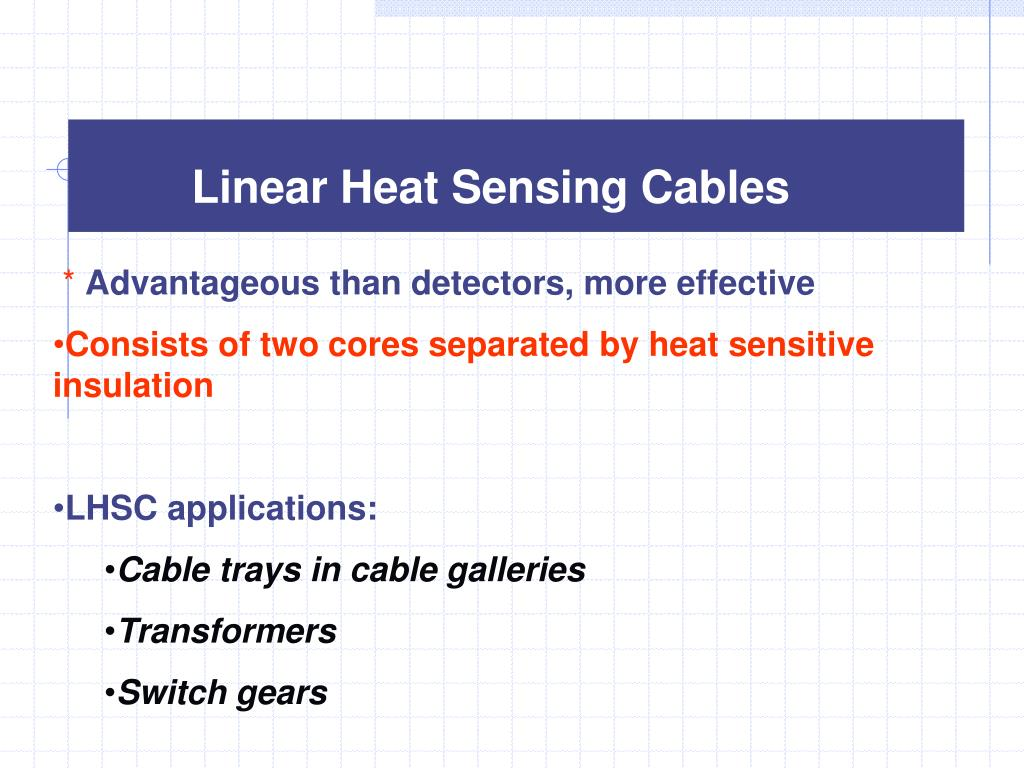 Linear Heat Sensing Cables