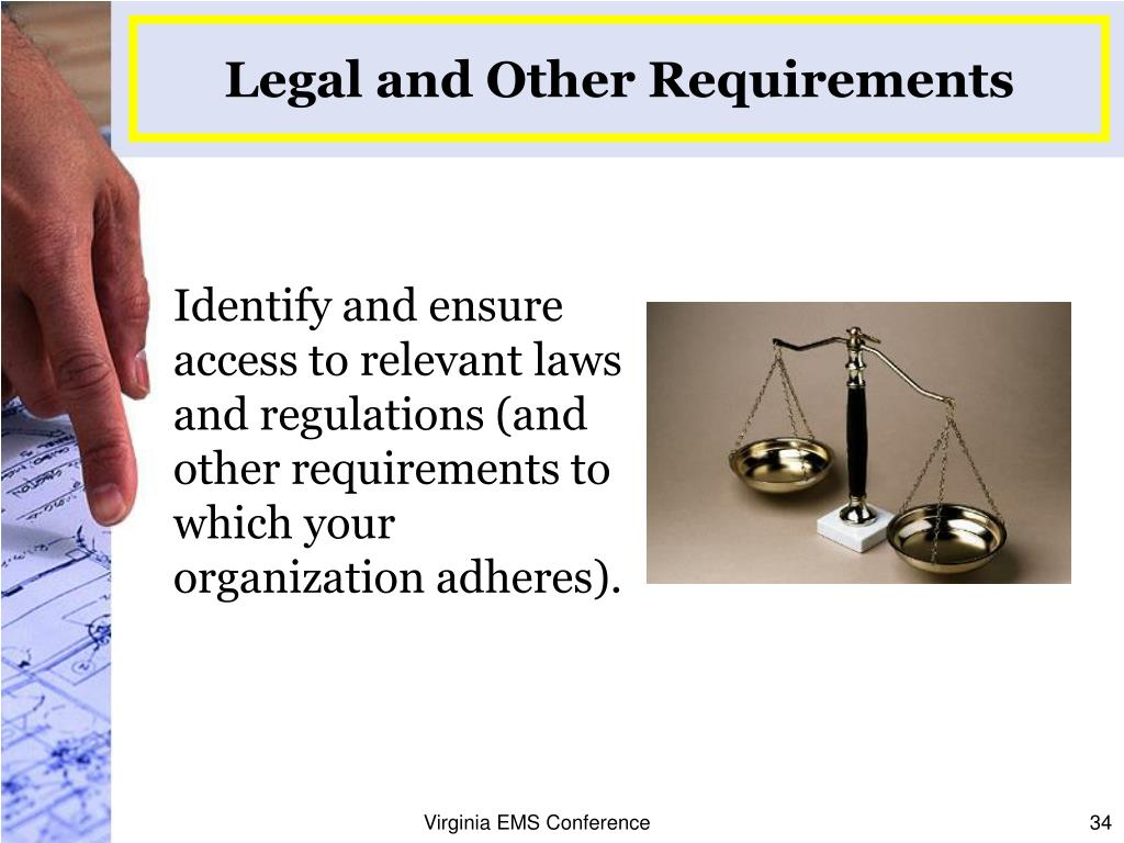 Legal and Other