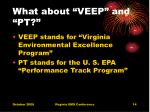 what about veep and pt