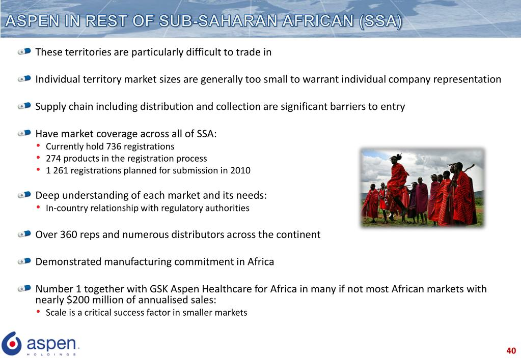 ASPEN IN REST OF SUB-SAHARAN AFRICAN (SSA)