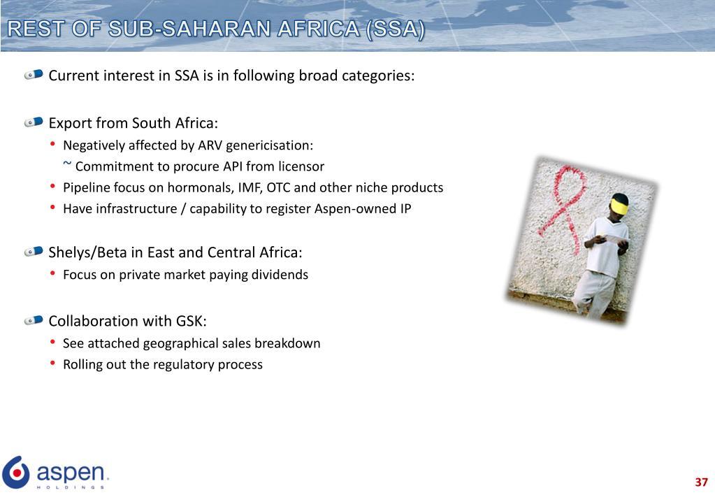 REST OF SUB-SAHARAN AFRICA (SSA)