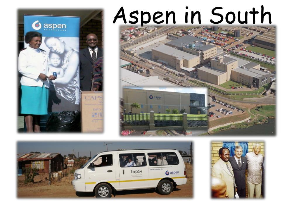 Aspen in South Africa