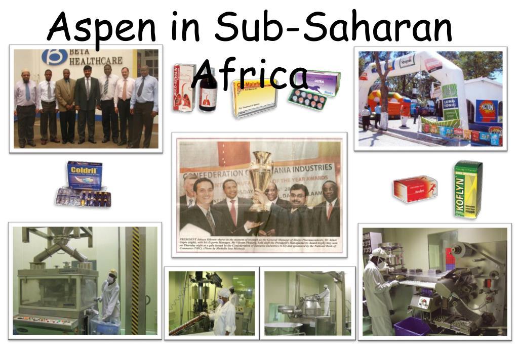 Aspen in Sub-Saharan Africa