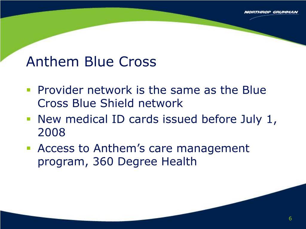 Anthem Blue Cross
