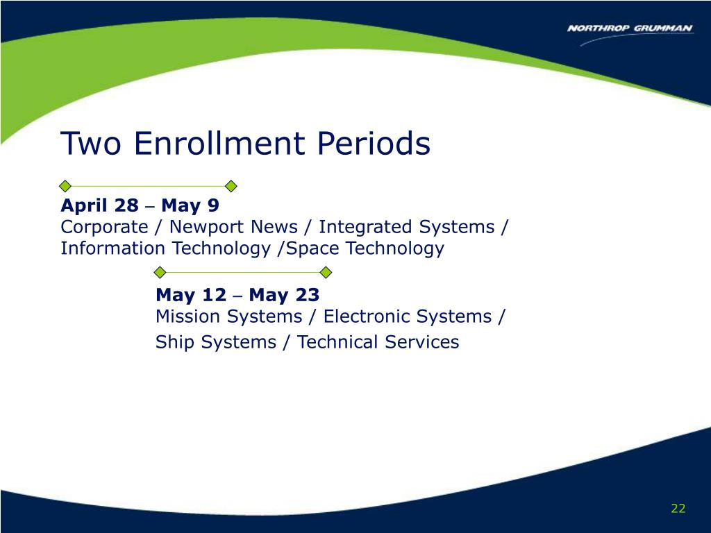 Two Enrollment Periods