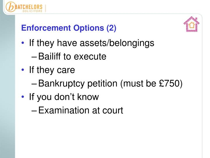 Enforcement Options (2)