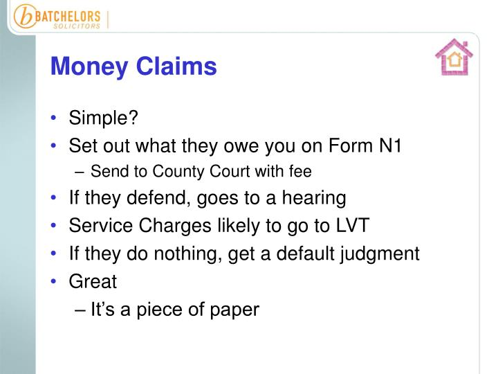 Money Claims