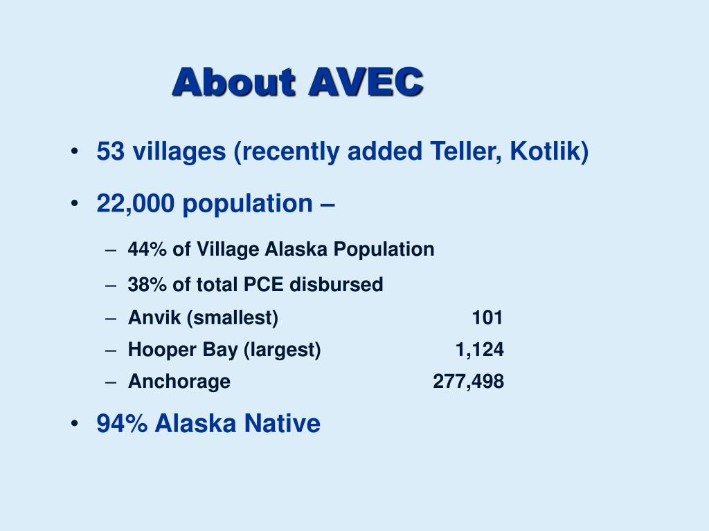 About AVEC