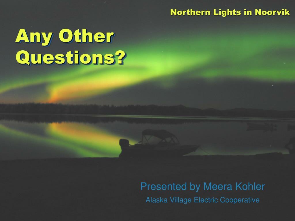 Northern Lights in Noorvik