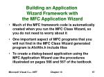 building an application wizard framework with the mfc application wizard57
