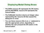 displaying modal dialog boxes44
