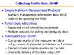 collecting traffic data snmp