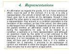 4 representations