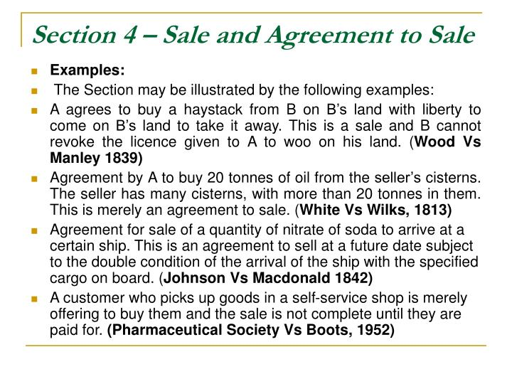 Section 4 sale and agreement to sale3