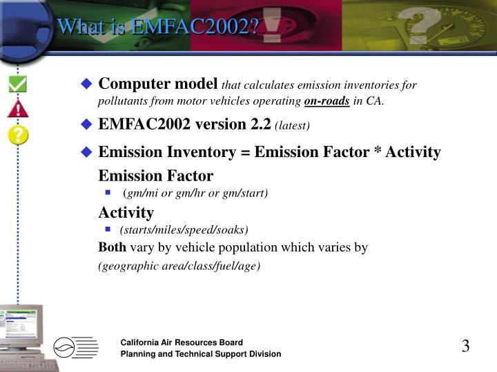 What is EMFAC2002?