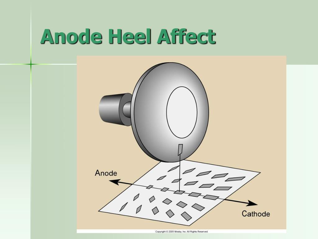 Anode Heel Affect