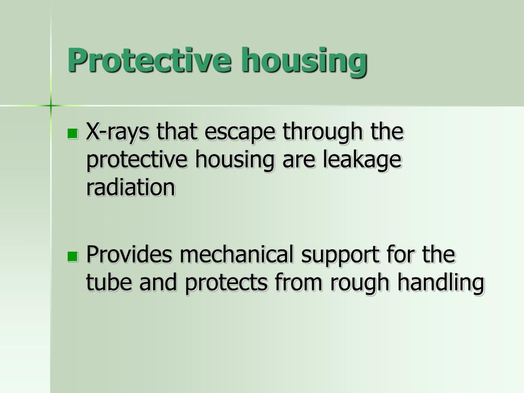Protective housing