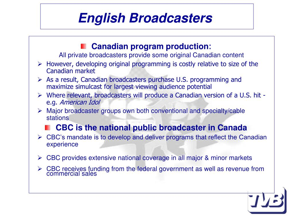 English Broadcasters
