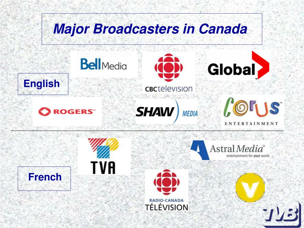 Major Broadcasters in Canada