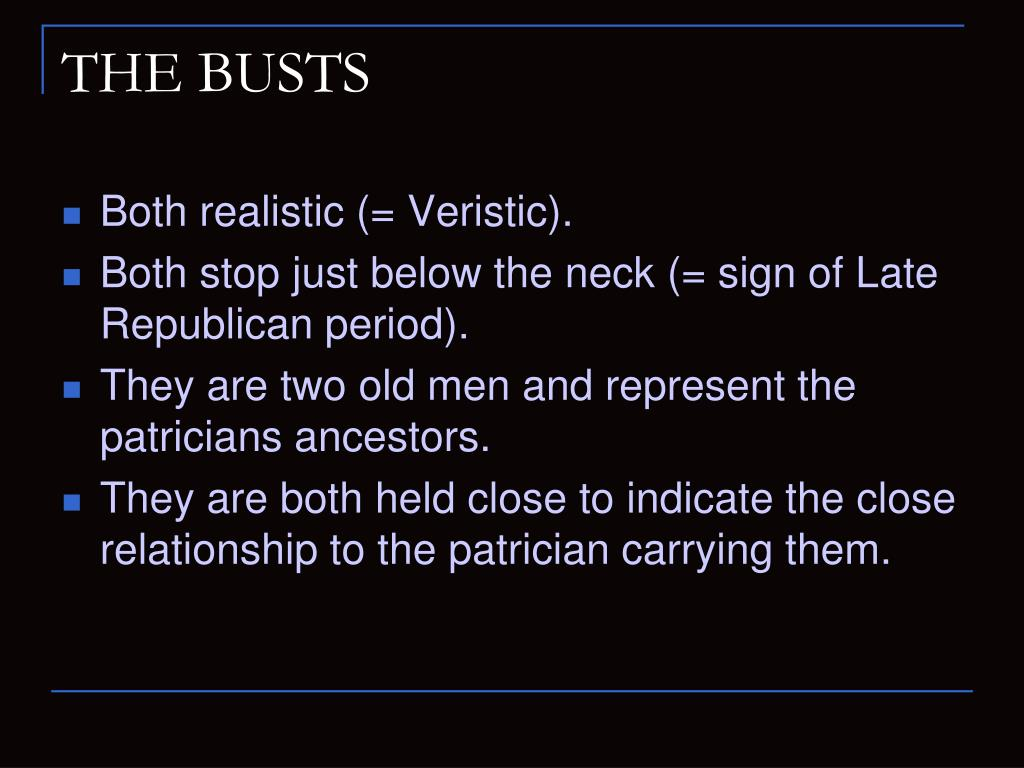 THE BUSTS