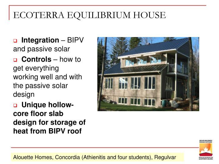 ECOTERRA EQUILIBRIUM HOUSE
